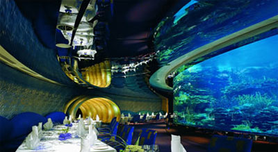 Dubai 7 Star Hotel Restaurants
